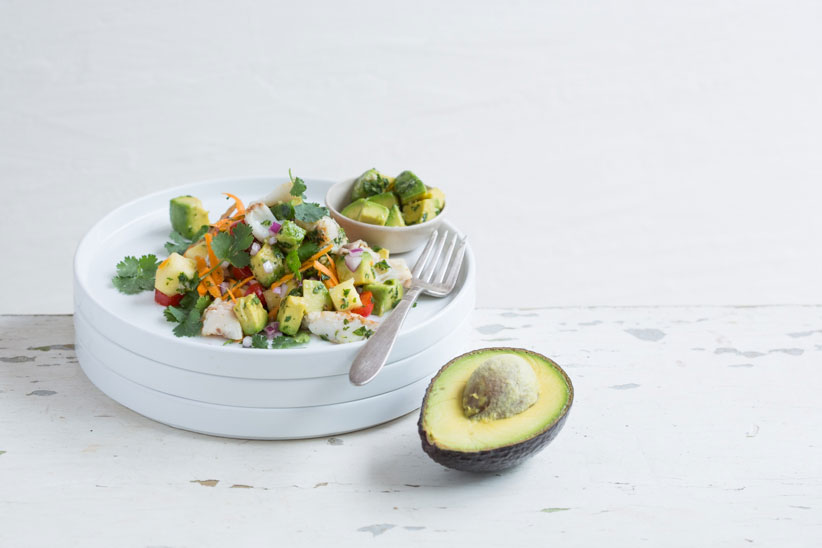 Recipe - Smoked Tilapia Avo Salad