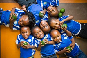 Laughing Kids with Avos