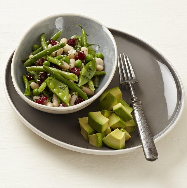 Avo and bean salad