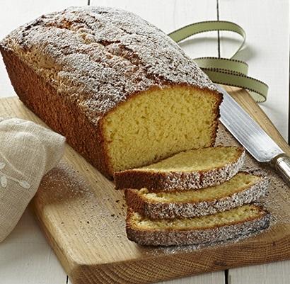 Westfalia lemon avo oil in lemon tea loaf